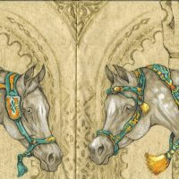 Rare Art Horses cream
