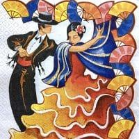 Art Flamenco couple