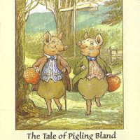 Rare Beatrix Potter The Tale of Pigling Bland