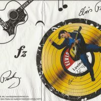 Rare Elvis Presley the King with guitar