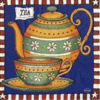 Rare Tea set blue