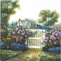 Rare Art Nostalgic Cottage