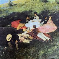 Picnic in May art by Pal Szinyei Merse  1/1