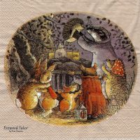 Harvey Mouse,Rabbit Foxwood Tales by Brian Paterson pigeon grey