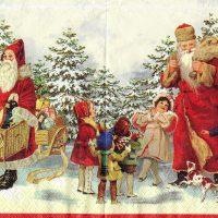 Rare Nostalgic Santa