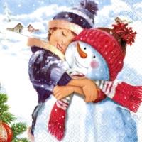5x napkin Christmas Anton