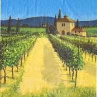 Wine Country art by David Short