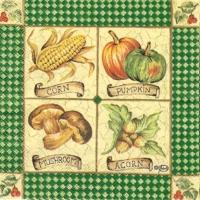 Rare Mushrooms/Corn/Acorn green